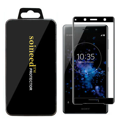 AU26.62 • Buy {1-5Pack} SOINEED® Sony Xperia XZ2 Premium 3D  CURVED FULL COVER Tempered Glass