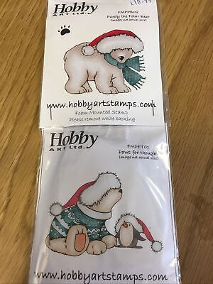 £9 • Buy Hobby Art Stamps PURDY & PAWS FOR THOUGHT
