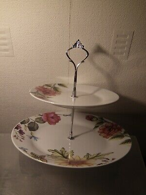 £9.50 • Buy Rayware Two Tier Cake Stand