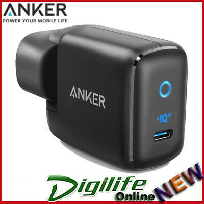 AU49 • Buy Anker PowerPort Mini III Wall USB-C Charger - Black 30W Power IQ 3.0 Charger