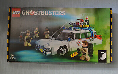 Lego 21108 Ideas Ghostbusters Ecto-1 *NEW Factory Sealed Box* With Minifigures • 94.95£
