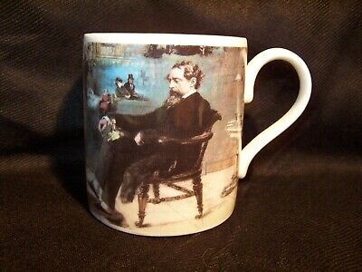 Museum Of London Bone China Mug Dickens's Dream  1804 - 1875 • 2.99£