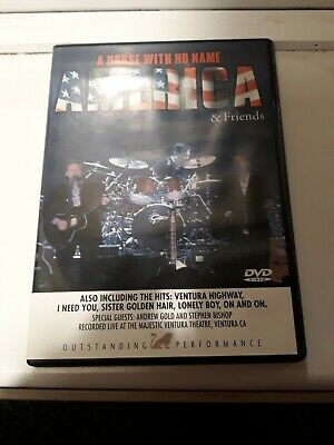 America And Friends, A Horse With No Name Dvd • 10£