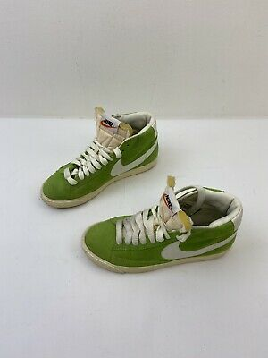 Womens Nike Blazer Mid UK4.5 Suede Action Green • 24.99£