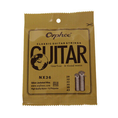 $ CDN9.57 • Buy Orphee NX36 Nylon Classical Guitar Strings 6pcs Replacement (.028-.043) U1M8
