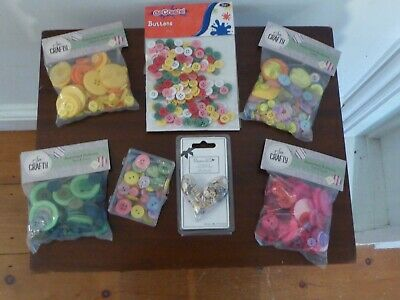 £2.50 • Buy Craft Buttons Various Sizes