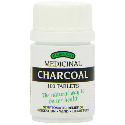 £8.87 • Buy Braggs Medicinal Charcoal Tablets [100s]