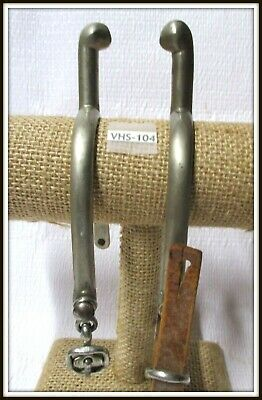 $80 • Buy 1940's ~NEVER RUST~ English Or Military Issue Spurs With Buckles