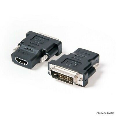 AU5.99 • Buy DVI D Male Dual Link To HDMI Female Converter Socket Cable Adapter Plug For HDTV