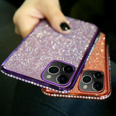 AU10.25 • Buy For IPhone 11 Pro Max 8 7 Luxury Bling Glitter Diamond Phone Case Soft TPU Cover