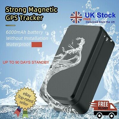 Magnetic GPS Tracker Car Van Vehicle Fleet Tracking Worldwide Use NO Monthly Fee • 29.99£
