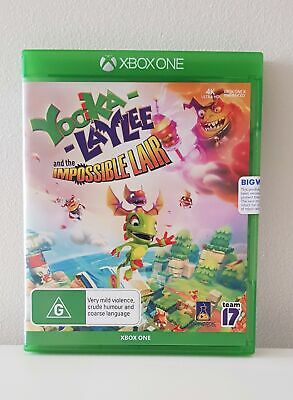 AU29 • Buy Yooka Laylee Impossible Lair Microsoft XBOX One *BRAND NEW*  **FREE SHIPPING**
