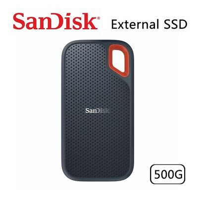 AU135.95 • Buy SSD SanDisk Extreme 500GB Portable External Solid State Drive USB 3.1 Type-C
