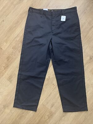 UO Edwin Zoot Cropped Chino Trousers Smart Formal Trousers W34 Grey BNWT RRP £80 • 35£