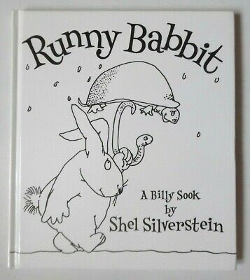 Runny Babbit - A Billy Sook By Shel Silverstein Hb Book 1st 2005 • 9.99£