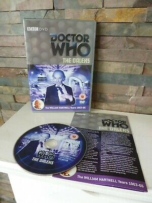 Classic DOCTOR WHO : THE DALEKS DVD - UK - FAST/FREE POSTING. • 5.99£