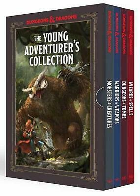 AU48.82 • Buy The Young Adventurer's Collection [Dungeons And Dragons 4-Book Boxed Set]: Monst