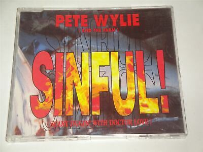 Pete Wylie ( And The Farm ) - Sinful CD Single • 4.99£