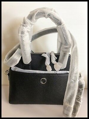 AU219.99 • Buy Oroton Leather Metier Griptop Hand Bag Brand New With Tags Black