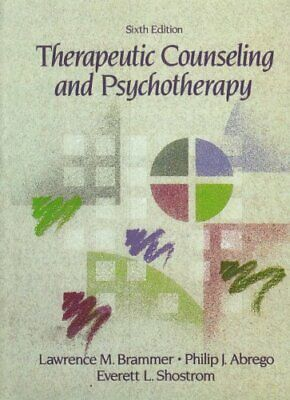 Therapeutic Counseling And Psychotherapy By Shostrum, Everett Hardback Book The • 6.99£