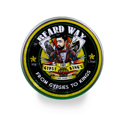 Premium Beard & Moustache Wax | Strong Hold Styling, Taming, Twists, Curls | 50g • 9.99£