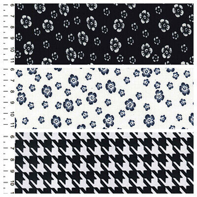 Printed Ponte Roma For Dressmaking Choice Of 3 Designs • 7.99£