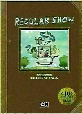 Regular Show: The Complete Third Season - DVD 3 DISC SET - VERY GOOD • 15.99£