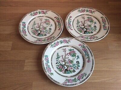 Indian Tree Design Dinner Plates Made By Royal Falcon And Sampson Bridgwood • 8.99£