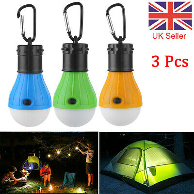 £6.22 • Buy 3Pcs Portable Camping Equipment Lantern Light LED Emergency Outdoor Waterproof