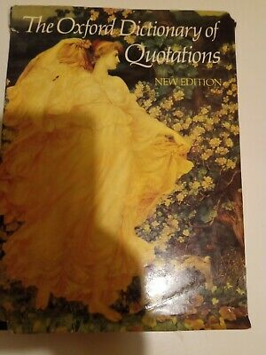 £2 • Buy The Oxford Dictionary Of Quotations, 1979