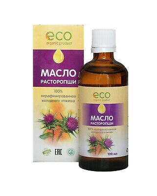 $22.07 • Buy Fresh Cold Pressed Milk Thistle Seed Oil Natural Silybum Marianum Oil 3x100ml