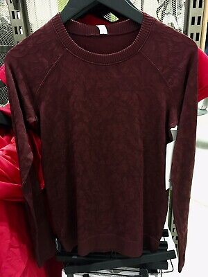 $ CDN159.99 • Buy Lululemon Rest Less Pullover Garnet 2 4 6 8 10 12