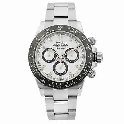 $ CDN34254.03 • Buy Rolex Cosmograph Daytona Steel Ceramic White Dial Automatic Mens Watch 116500LN