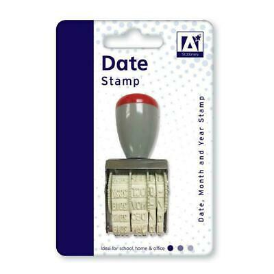 £2.95 • Buy Manual Rubber Date Stamp Stamp For School, Home, Office, Work -2020 NEW.