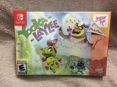 AU240 • Buy Yooka Laylee Collectors Edition - Nintendo Switch - Limited Run Games - #013