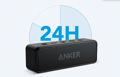 AU77 • Buy Anker Soundcore 2 Portable Bluetooth Wireless Speaker Better Bass 24-Hour Playti