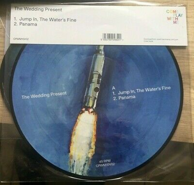THE WEDDING PRESENT ~ Jump In , The Water's Fine ~ 10  VINYL PICTURE DISC ~ NEW • 11.50£