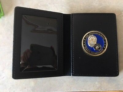 £8.69 • Buy Nice Leather Challenge Coin Badge & ID Case