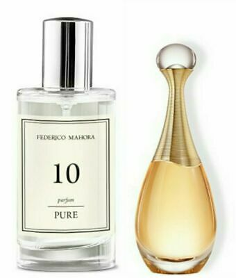FM 10 PURE COLLECTION FEDERICO MAHORA PERFUME FOR WOMEN 50ml UK • 12.99£