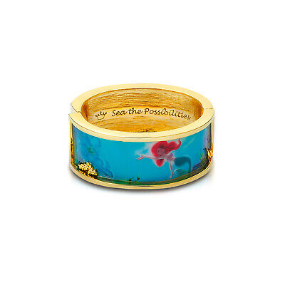 £55 • Buy Disney Couture Kingdom Gold-Plated Little Mermaid Ariel Statement Bangle