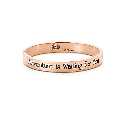 £39 • Buy Disney Couture Kingdom Princess Rose Gold-Plated Beauty & The Beast Belle Bangle