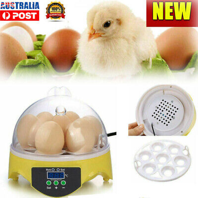 AU12.99 • Buy 7 Eggs Incubator Fully Automatic Digita Turning Chicken Duck Poultry Hatcher NEW