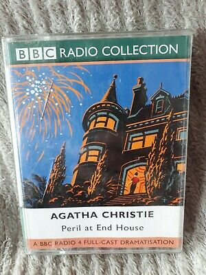 PERIL AT END HOUSE By AGATHA CHRISTIE Cassette AUDIO BOOK • 2.99£