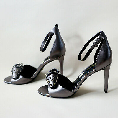 JUICY COUTURE Designer Genuine Leather Shoes High Heels Sandals Size 6 39  • 36.75£