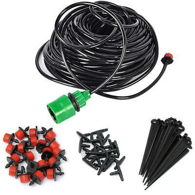 Water Irrigation Kit Set Automatic Balcony Pot Micro Drip Watering System • 9.63£