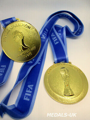 £19.90 • Buy Brazil 2014 World Cup Fifa - Gold Medal Replica