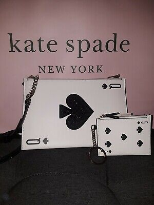 $ CDN326.66 • Buy Kate Spade Lucky Draw Card Crossbody With Matching Wallet