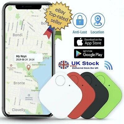 4 X Mini GPS Tracking Device Tag Key Child Finder Pet Tracker Vehicle Locator UK • 13.99£