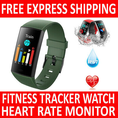 AU45.20 • Buy Cy11 Smart Watch Band Heart Rate Fitbit Charge 3 Style Blood Pressure Monitor