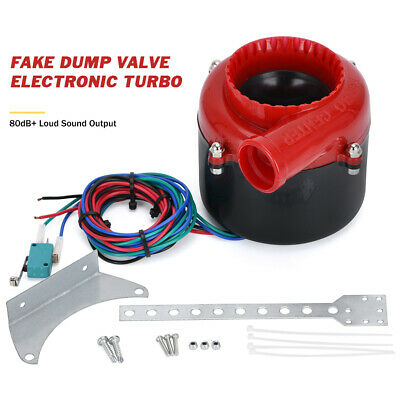 $23.28 • Buy Fake SSQV Dump Electronic Turbo Blow Off Valve SSQV BOV Analog Simulator Sound